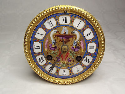 Gay Vicarino & Co / Japy Freres French Clock Movement For Spares Or Restoration
