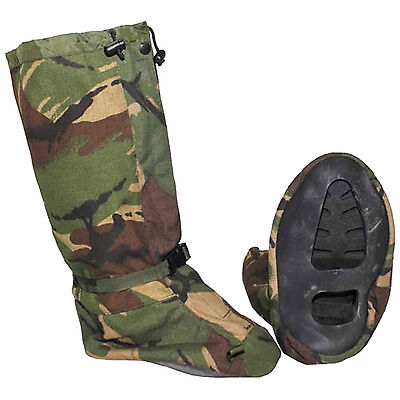 Genuine British Army DPM Camo Gore-Tex Snow Yeti Overshoe Gaiters