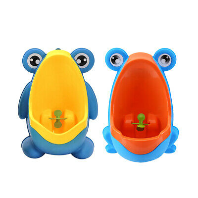 Frog Children Potty Toilet Training Kids Urinal for Boys Pee Trainer Blue