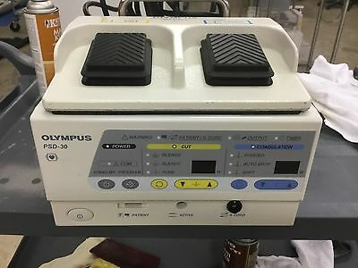 Olympus PSD-30 Electrosurgical Unit With Foot Switch