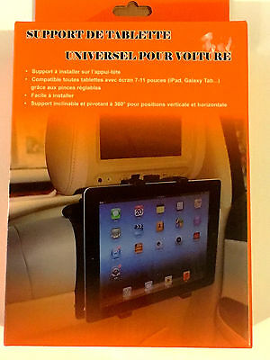 Support de tablette universel pour voiture Ipad,Galaxy Tab...