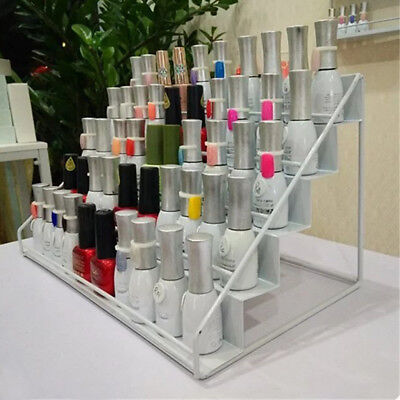 New 5 Tiers Nail Polish Storage Organizer Salon Counter Table Display Stand