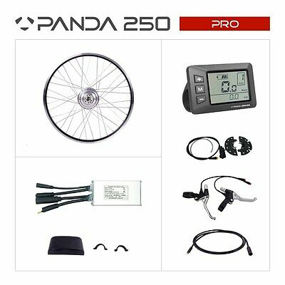 36V 250W electric bicycle eBike conversion kit, LCD screen 20/24/26/27/28""