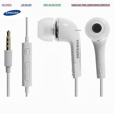 Genuine Samsung S3 Handsfree Headphones Earphones Earbud with Mic- EHS64AVFWE