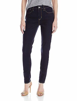 Levis High Rise Night Rinse Blue Jeans