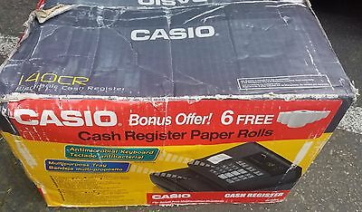 Casio 140CR Electronic Cash Register NEW IN THE BOX