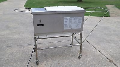 Henny Penny Breader Breading Station Sifter Table Chicken Fish Meat