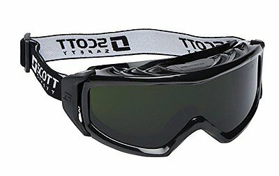 Wide Vision Welding Goggles Scott Safety Neutron Shade 5 - Anti Scratch Lens