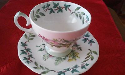 Queen Anne Royal Academy Tea Cup and Saucer Set