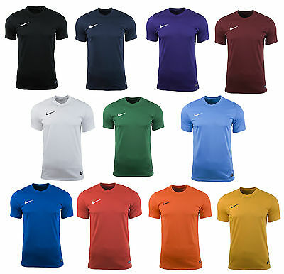 Nike Mens Park Vi Gym Sports Tee T-Shirt Top Football