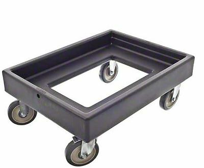 Food Carrier Dolly, black, 300 lbs capacity, Cambro CD300110