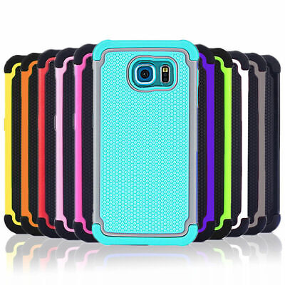 Shockproof Heavy Duty Case Tough Tradie Cover for Samsung Galaxy S7 S8 Plus Edge