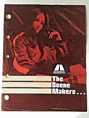 The Scene Makers 1970 Ford Cobra Accessories Catalog 3 Pages Original