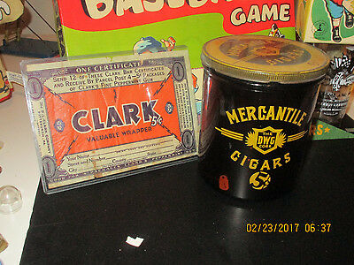 Vintage 1930S Clark Candy Bar Wrapper