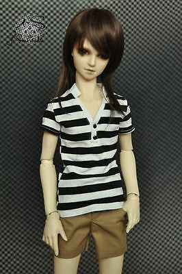 Top + Shorts (2pcs) for 1/3 Boy SD13/10 BJD Doll Dollfie Clothes Outfit Set