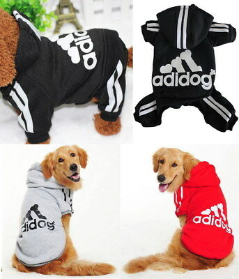 Puppy Small & Large Pet Dog Warm Winter Apparel Clothes Coat Jacket Shirt Hoodie