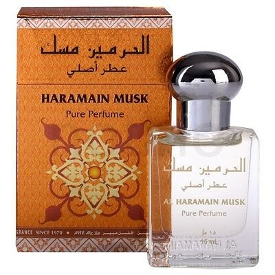Haramain Musk A Famous Oriental Pleasant Perfume Oil/Attar 15ml by al haramain
