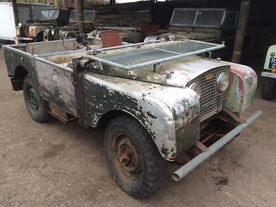 1951 Land Rover Series 1 80 inch 1.6 Litre Matching Number Engine Dated Radiator