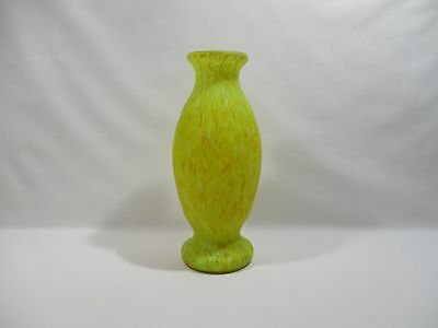 Ancien Vase En Pate De Verre Former Vase Glass Old Glasvase