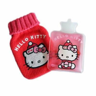 Hello Kitty Reusable Hand Warmer in Knitted Mini Water Bottle Cover Mothers Day