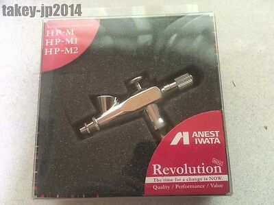 ANEST IWATA Airbrush Revolution Mini HP-M Single Action 0.3mm 1.0ml Japan F/S