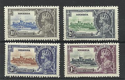 Nigeria,1935 Set of Silver Jubilee Issues, Lightly Mounted Mint [255]