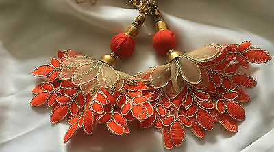 Crafting Blouse Latkans Beaded Supplies Decorative Tassels Accessories By 1 Pair