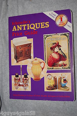 Schroeder's Antiques Price Guide (1992, Paperback)