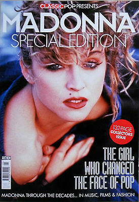CLASSIC POP presents MADONNA * UK SPECIAL EDITION COLLECTORS ISSUE * 2017 * BN&M