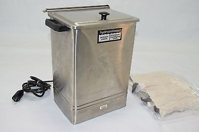 Chattanooga Hydrocollator E-1 Stationary Heating Unit - PREOWNED w/ 3 Heat Packs