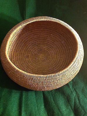 Antique Hand Made Native American Large Cooking  Basket