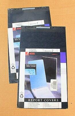 """ACCO Report Covers, 8-1/2"""" x 14"""", GROUP OF 4"""