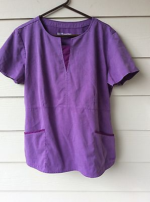 Grey's Anatomy Dusty Purple Scrub Top and Pants size XL