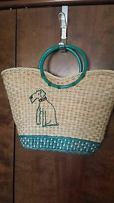 Women's Wire fox Terrier handbag
