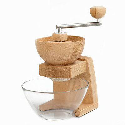 Kornkraft Mia Mola Hand Grain Mill includes 2 Clamps and Bowl German Product