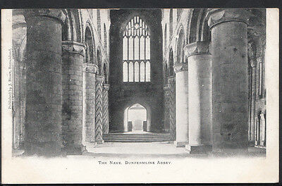 Scotland Postcard - The Nave, Dunfermline Abbey   RS2027