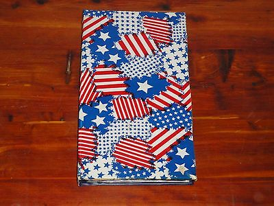 Photo Album In Red, White & Blue – Holds 72 Pictures – 5 X 3.5 Inches