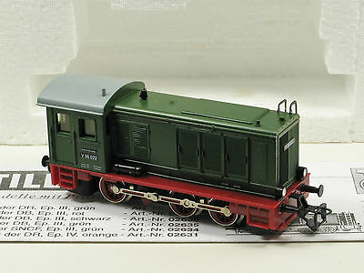 Tillig TT Scale (1:120)  Diesel Switcher Locomotive V36 DR Ep. III Green (02630)