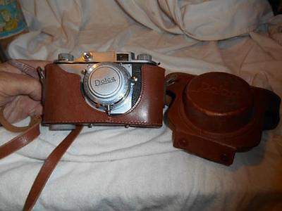 Dolca 35mm camera vintage with case