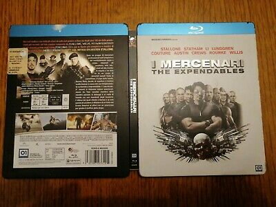 Blu Ray I Mercenari The Expendables - Sylvester Stallone Steelbook