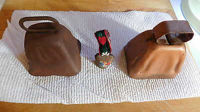 Lot of 3 Vintage Bells Cow/Sheep