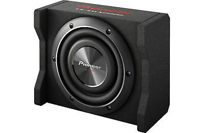 """New Pioneer TS-SWX2002 600 Watts 8"""" Loaded Shallow Truck Subwoofer Enclosure"""