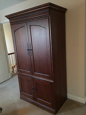 """Armoire """"Hooker"""" Solid Cherry Wood"""