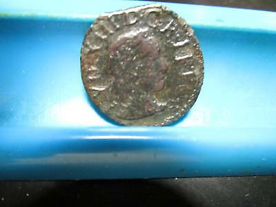 Unkown - Early Copper Coin - 20-mm - Please ID                 (R192)