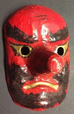 Japanese Paper Mache Mask