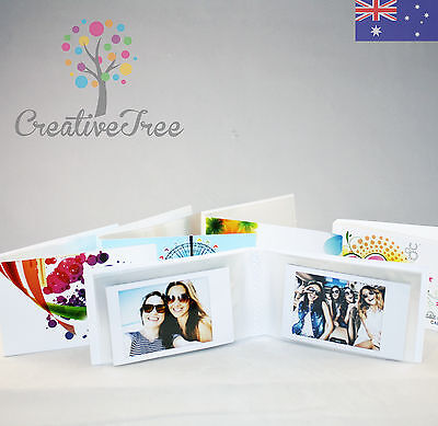 SET OF 4 pocket-sized Photo Albums holds 24 INSTAX MINI pix each - choose styles