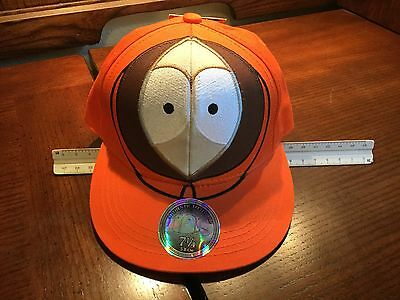 """Baseball Cap south Park Kenny Orange 7 1/4"""" SWEET! Excellent Fitted Hat"""