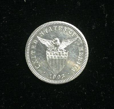 1903  US-Philippines 10c  Proof Silver Coin