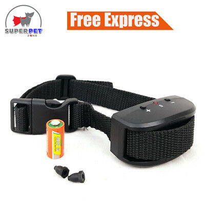 No Bark - Stop Barking - Dog Training Collar - Automatic - Battery Operated