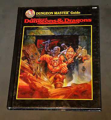 Advanced Dungeons & Dragons Dungeon Master Guide AD&D  TSR 2160 HC EXC